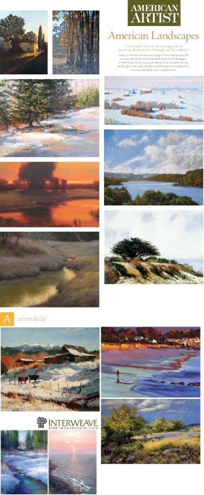 American-Artist-Landscapes-Calendar-2011